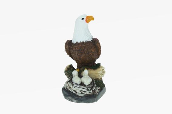 Poly eagle (6) w.2 offspring 8,5cm, Cornelissen naTierliche ...