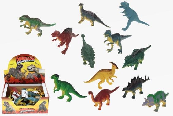 pvc dinosaurier 12sort 24 15cm cornelissen natierliche geschenke gmbh co kg. Black Bedroom Furniture Sets. Home Design Ideas